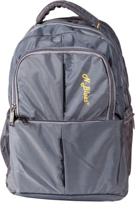 N Blues Geek Look Grey College + Travelling Casual 40 L Backpack Grey N Blues Backpacks