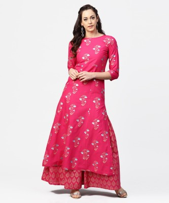 Nayo Women Kurta and Skirt Set at flipkart