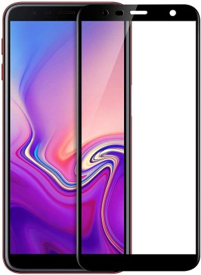 INFINITYWORLD Edge To Edge Tempered Glass for Samsung Galaxy J6 Plus(Pack of 1)