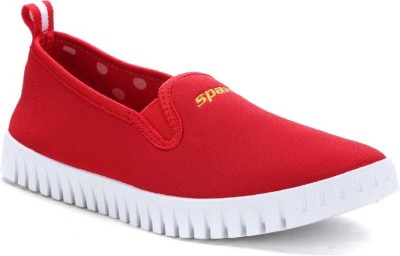 SPARX SL86 Canvas Shoes For Women Red SPARX Canvas