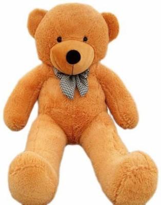E-TREE TEDDY BEAR 6 Feet Soft Teddy Bear For Birthday Party or Valentine (Brown Colour) - 178 cm(Brown)