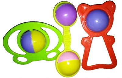 RGB GROUP Rattle Play Toy for Baby ( Multi Color) Rattle(Multicolor)