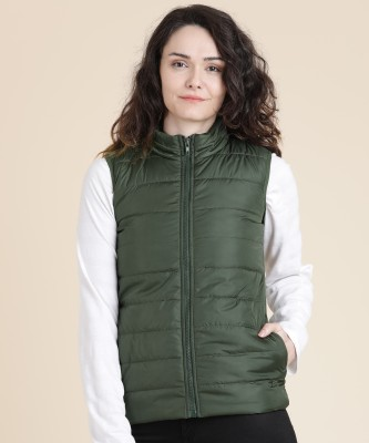 Provogue Sleeveless Solid Women Jacket at flipkart
