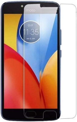 New happy fashions Tempered Glass Guard for Motorola Moto E4 Plus(Pack of 1)