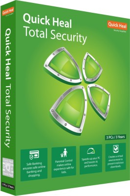 Quick Heal Total Security 3.0 User 3 Years(Voucher)