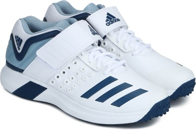pretty nice f8b0c a4d35 ADIDAS ADIPOWER VECTOR MID Cricket Shoes For Men(White) best price on  Flipkart