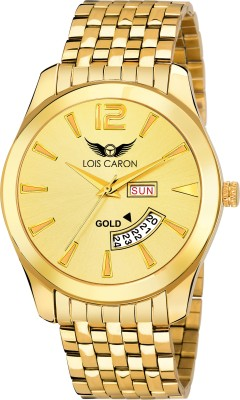 84a3d428a82 Lois Caron LCS-8010 DAY AND DATE FUNCTIONING Watch - For Men