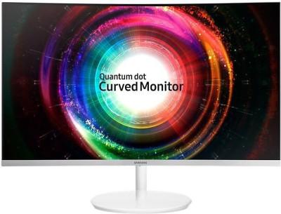 Samsung 27 inch Curved WQHD Monitor (LC27H711QEWXXL)(HDMI) at flipkart