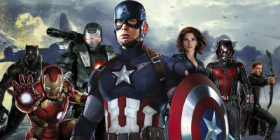 Movie Captain America: Civil War Captain America Marvel Superhero HD Wall Poster Paper Print(12 inch X 18 inch, Rolled) at flipkart