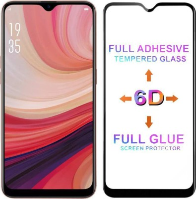 Express Buy Edge To Edge Tempered Glass for Nokia 6.1 Plus /Nokia X6 2018 (6D Tempered Glass)(Full Glue Glass)(Pack of 1)