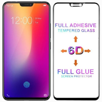 Express Buy Edge To Edge Tempered Glass for Nokia 6.1 Plus /Nokia X6 2018 (6D Premium Full Glue Tempered Glass )(9H Glass)(Pack of 1)