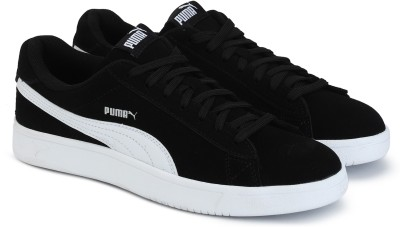 23171222e36b 40% OFF on Puma Court Breaker Derby Sneakers For Men(Black) on Flipkart