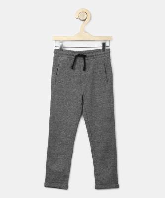 MARKS & SPENCER Regular Fit Boys Grey Trousers at flipkart