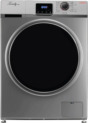 Onida 7.5 kg Fully Automatic Front Load Washing Machine Silver, Black(F75TSG) (Onida)  Buy Online
