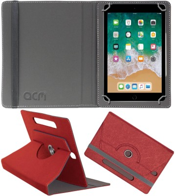 ACM Flip Cover for Apple Ipad (6th Gen) 9.7(Peach, Cases with Holder)