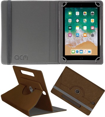 ACM Flip Cover for Apple Ipad (6th Gen) 9.7(Brown, Cases with Holder)