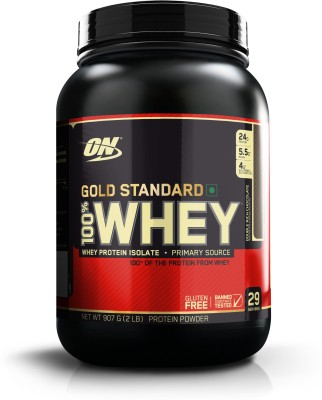 Optimum Nutrition Gold Standard 100% Whey Protein (907gm, Chocolate)