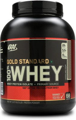 Optimum Nutrition 100% Whey Gold Standard (2.26Kg, Cookies and Cream)
