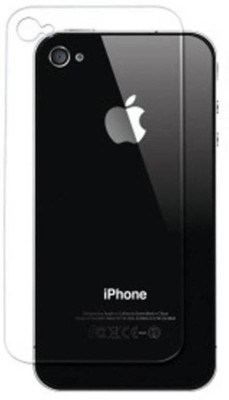 NDCOM Back Tempered Glass for Apple iPhone 4s(Pack of 1)