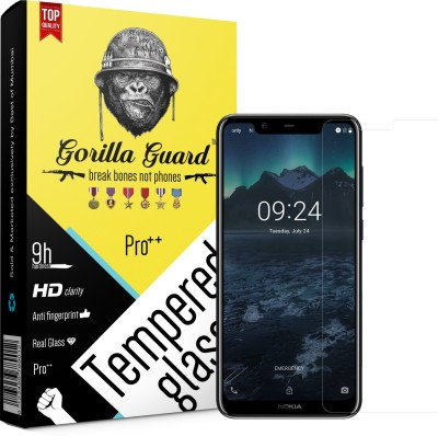 Gorilla Guard Impossible Screen Guard for Nokia 5.1+ X5(Pack of 1)