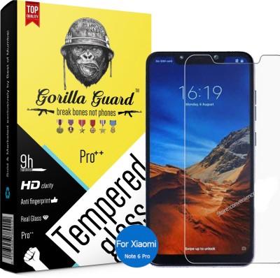 Gorilla Guard Impossible Screen Guard for Mi Redmi Note 6 Pro(Pack of 1)