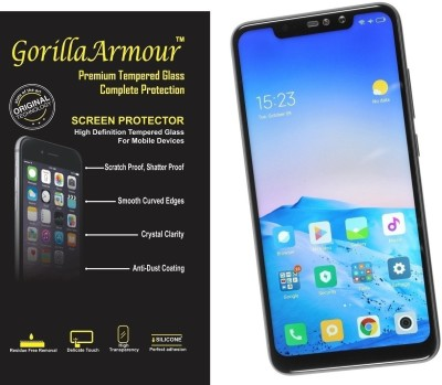 Gorilla Armour Impossible Screen Guard for Mi Redmi Note 6 Pro(Pack of 1)