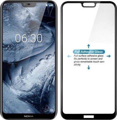 Express Buy Edge To Edge Tempered Glass for Nokia 6.1 Plus(Pack of 1)