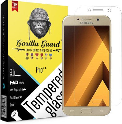 Gorilla Guard Tempered Glass Guard for Samsung Galaxy A5(Pack of 1)