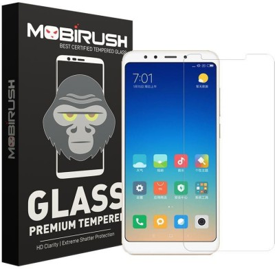 MOBIRUSH Tempered Glass Guard for Mi Max 3(Pack of 1)