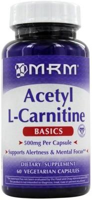 MRM Acetyl L-Carnitine 500 mg 60 Vegan Capsules(60 No)