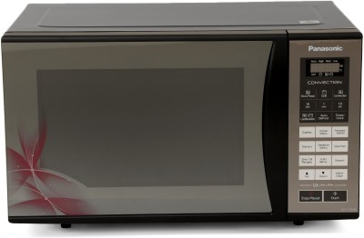 Panasonic 23 L Convection Microwave Oven(NN-CT36HBFDG, Black Mirror Floral)