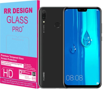 RR Design Tempered Glass Guard for Huawei Y9 2019(Pack of 1)