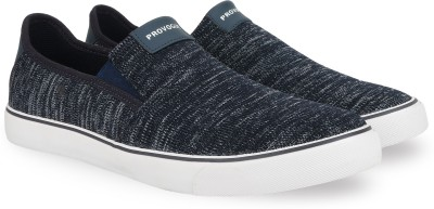 Provogue Canvas Shoes For Men(Navy)