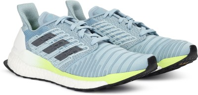 ADIDAS SOLAR BOOST W Running Shoe For Women(Blue) at flipkart