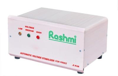 Rashmi 500 W VOLTAGE STABILIZER WHITE BROWN Rashmi Voltage Stabilizers