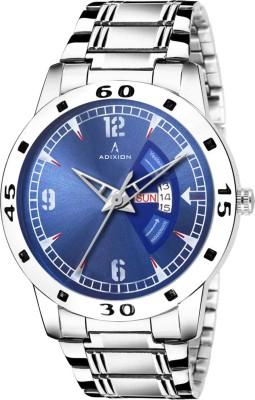 ADIXION 9541SM04 Adixion AD9541SM04 Day & Date for Men's Analog Watch  - For Men