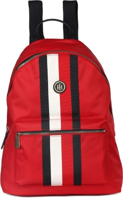 85266b8a 25% OFF on Tommy Hilfiger POPPY BACKPACK CORP STRP 5 L Backpack(Red,