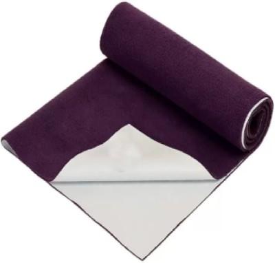 Riyansh Cozy Dry Cotton Baby Bed Protecting Mat(Purple,Medium (Multicolor), Medium)