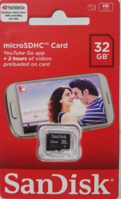 SanDisk MICRO SDC 32 GB MicroSD Card Class 4 98 MB/s  Memory Card
