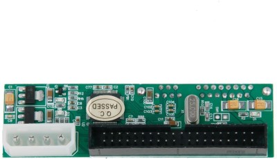 Buyyart Imported SATA 7 TO PATA IDE Converter Adapter Motherboard(Green)
