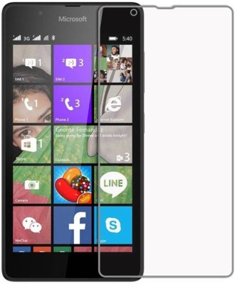 Bizone Tempered Glass Guard for Nokia Lumia 630(Pack of 1)