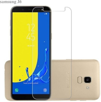 TrendzOn Tempered Glass Guard for Samsung Galaxy J6(Pack of 1)