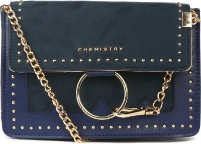 Chemistry Blue Sling Bag at flipkart