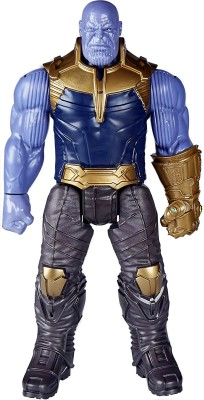 Wishkart THANOS Avengers Infinity War Action Figure With Light Effects And Sounds(Multicolor)