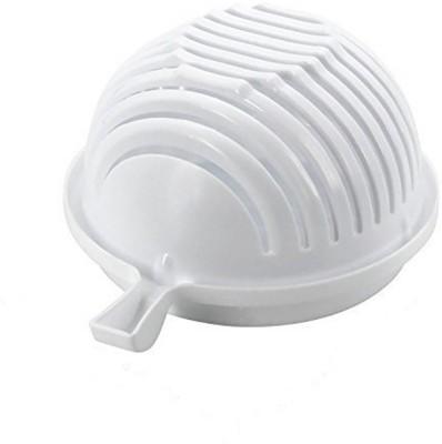 DIVINZ Multipurpose Salad Plastic Dessert Bowl White, Pack of 1 DIVINZ Bowls