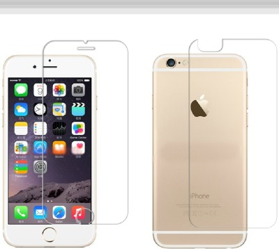 D&Y Front and Back Tempered Glass for Apple iPhone 6(Pack of 1)