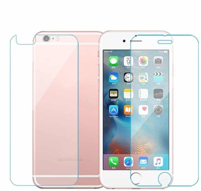 D & Y Front and Back Tempered Glass for Apple iPhone 6 Plus(Pack of 1)