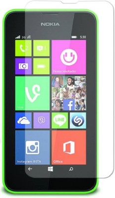 SVENMAR Tempered Glass Guard for Nokia Lumia 530(Pack of 1)