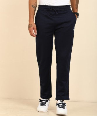 Wildcraft Solid Men Dark Blue Track Pants at flipkart