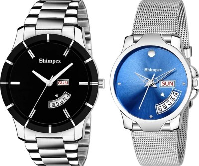 shimpex 3123024 Wrist watch for girl & Boys Day And Date Function Watch (1 Amazing year warranty) Smart Analog Watch  - For Men & Women